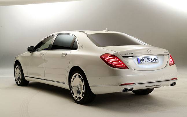 Mercedes Benz Maybach S500