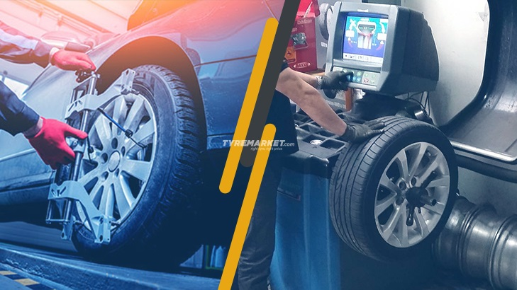 Wheel Balancing & Wheel Alignment: The Difference