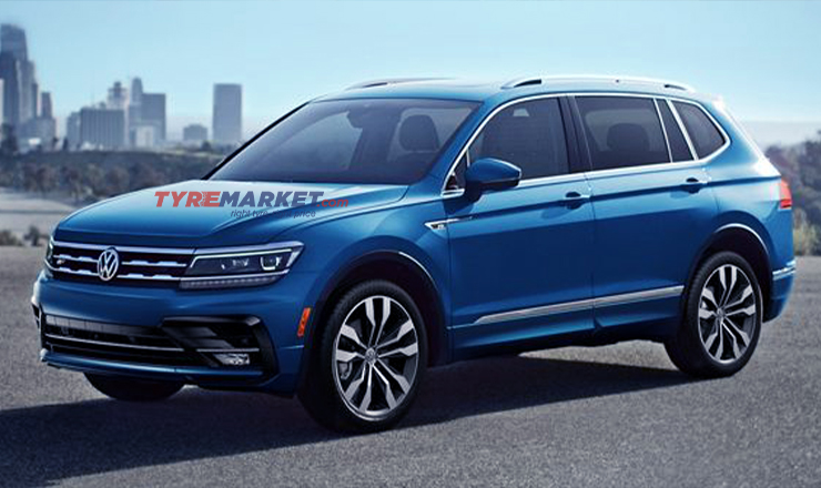 2020 Volkswagen Tiguan Allspace SUV Scheduled For India Launch on 6th March