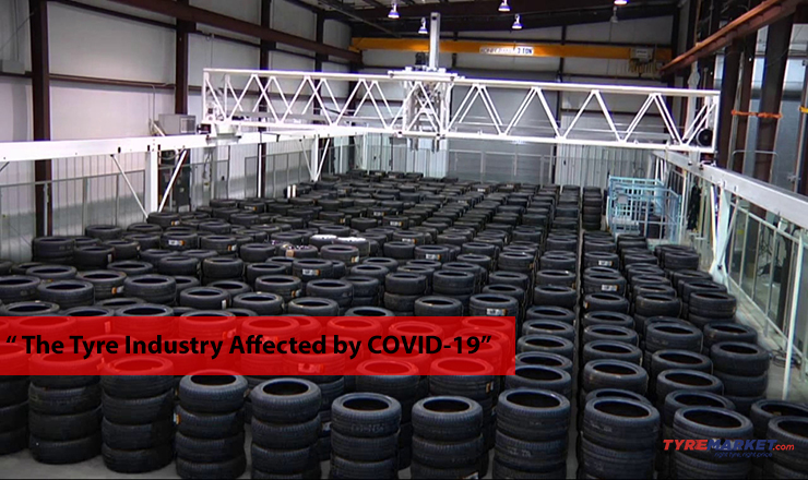 Tyre Industry affected by COVID-19