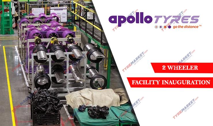 Apollo Tyres Inaugurates Two-Wheeler – Radial & Cross-Ply Tyre Facility