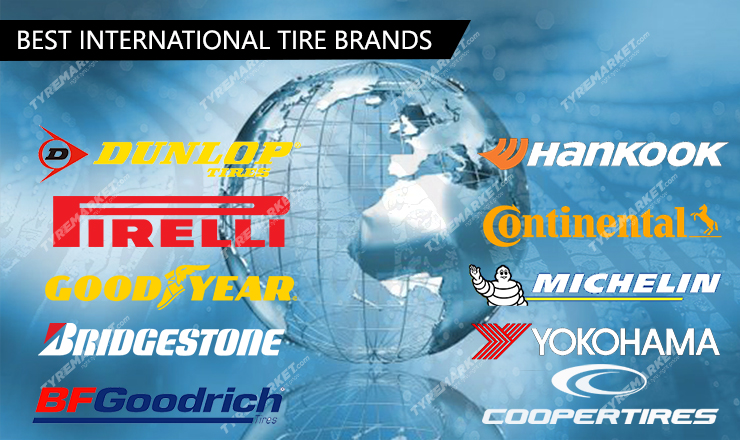 Top 10 International Tire Brands In The World