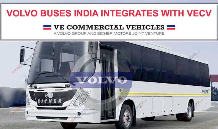 Volvo Buses India Merges With VECV