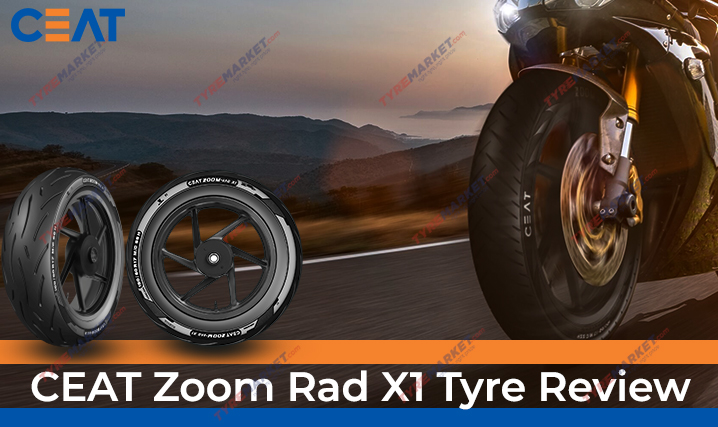 CEAT Zoom Rad X1 Tyre Review, Price, Size, Warranty & Compatible Motorcycles