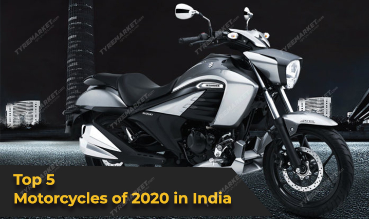 Top 5 Motorcycles of 2020 in India with Recommended Tyres