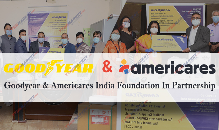 Goodyear India Join Hands With Americares India Foundation To Aid COVID-19 Healthcare Facilities in Faridabad & Aurangabad