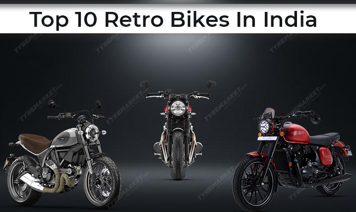 Top 10 Retro Bikes In India