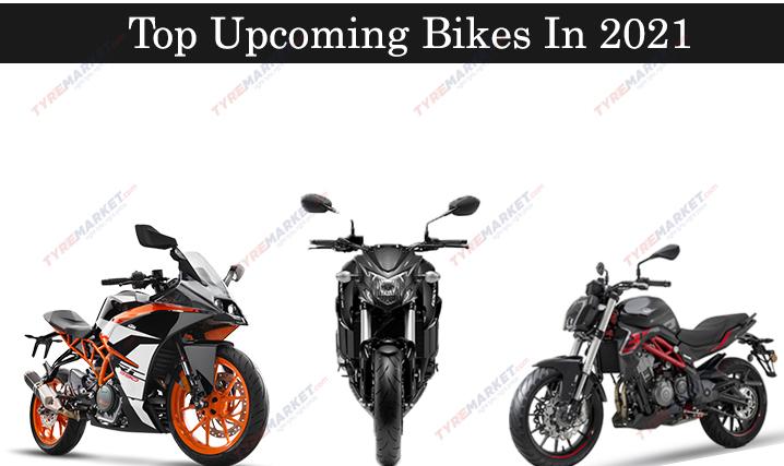 Top 5 Upcoming Bikes in 2021