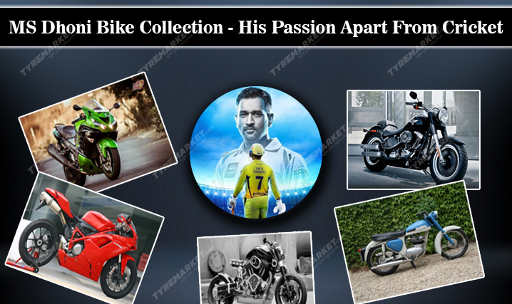MS Dhoni Bike Collection – His Passion Away From Cricket