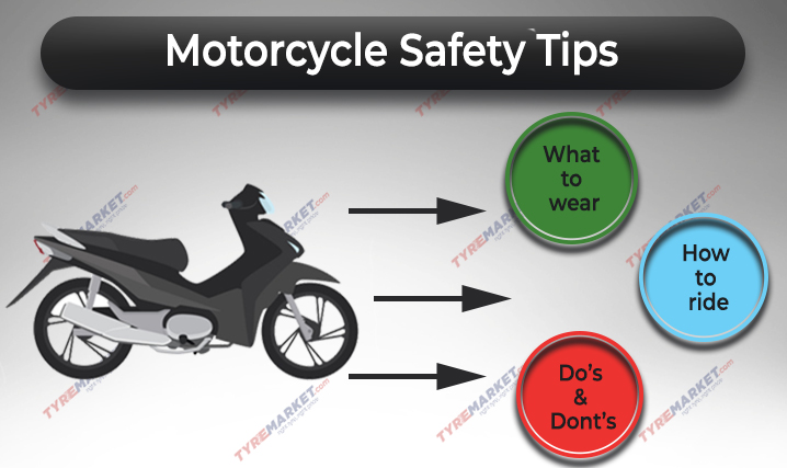 Motorcycle Riding Safety Tips