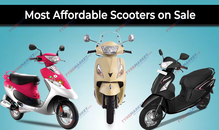Most Affordable Scooters On Sale & Recommended Scooter Tyres