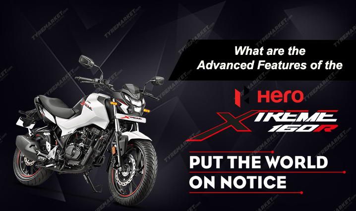 What are the Advanced Features of the Hero Xtreme 160R?