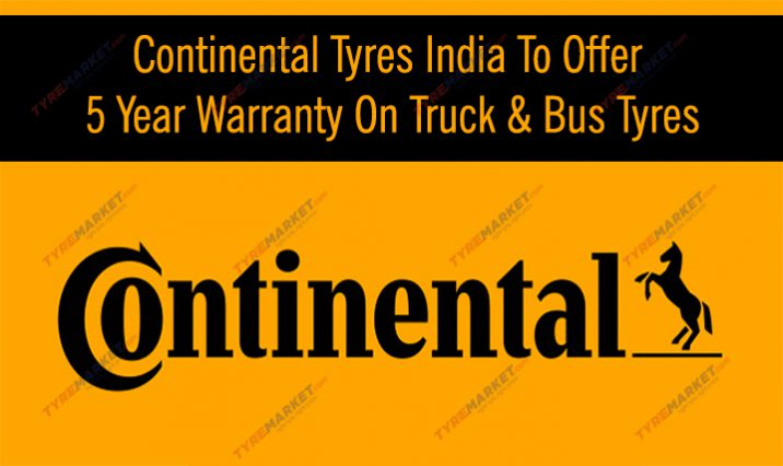 Continental Tires India To Offer 5-Year Warranty On Truck & Bus Tyres Now!