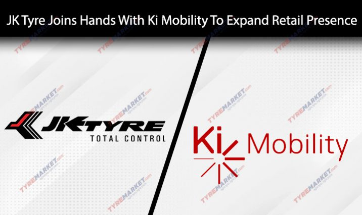 JK Tyre Joins Hands With Ki Mobility To Expand Its Retail Presence