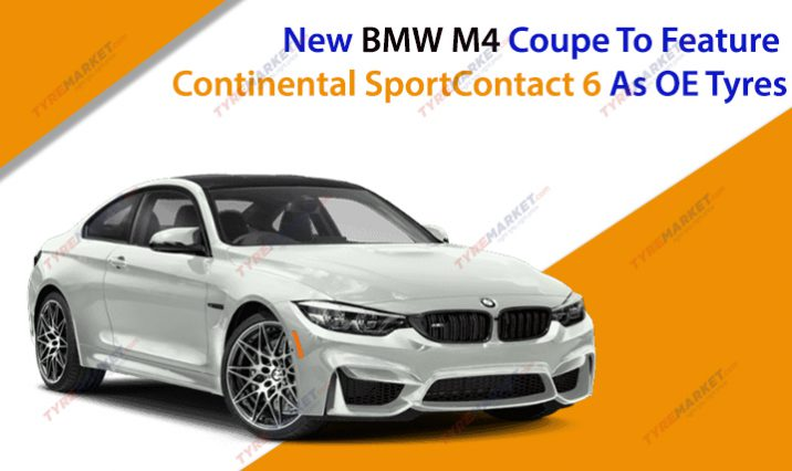 New BMW M4 Coupe To Feature Continental SportContact 6 As OE Tyres